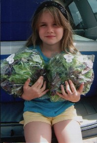 Chloe with Lodestar Lettuce