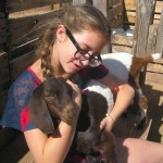 Baby goats, ducks, chickens help youngsters appreciate farm life.