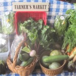 Summer market bounty